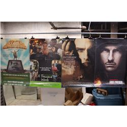 Lot of Movie Posters (5)(LesMiserables, Mission Impossible, etc;)