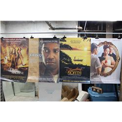 Lot of Movie Posters (5)(Water Horse, The Time Machine, etc;)