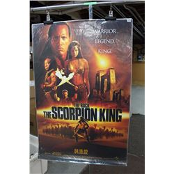 The Scorpion King Featuring The Rock Movie Poster