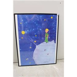 Le Petit Prince Framed Poster