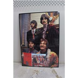 "The Beatles, Custom Framed Poster (24"" x 34"")"