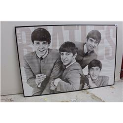 "The Beatles, Custom Framed Poster (25 ½"" x 35 ½"")"