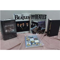 Lot Of Beatles Books (5) (The Beatles, Paul McCartney, Etc)