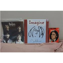Lot Of Beatles Memorabilia (Imagine, 2000 Calendar, John Lennon Diary)