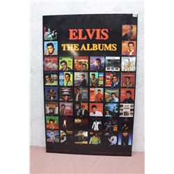 "Elvis Poster on Wood-Backing (22""x34"")"