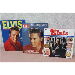 Lot of Elvis Books (3)