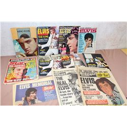 Lot of Elvis Articles & Magazines