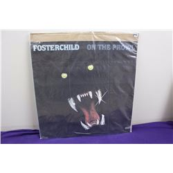 "Fosterchild ""On the Prowl"" Promotional LP Album Cover Poster"