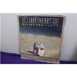"Streetheart ""Quicksand Shoes"" Promotional LP Album Cover Poster"