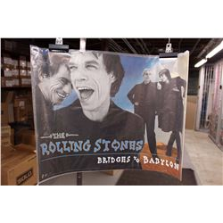 The Rolling Stones, Bridges To Babylon Poster