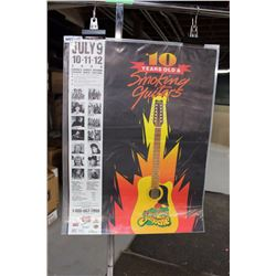 Craven Music Festival – Smoking Guitars Poster