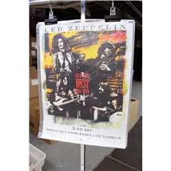 Led Zeppelin, How The West Was Won, Poster