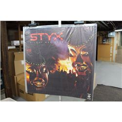 "Styx ""Kilroy Was Here"" Promotional LP Album Cover Poster"