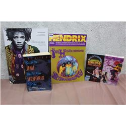 Lot Of Jimi Hendris Books And Related
