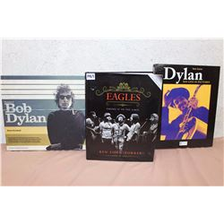 Lot Of Music Books (Bob Dylan, Eagles, Dylan)