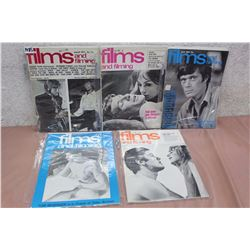Films And Filming Magazines (5) (60's-70's)