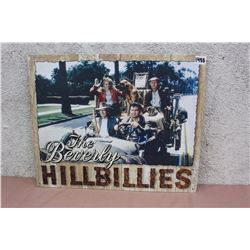 The Beverly Hillbillies Metal Sign