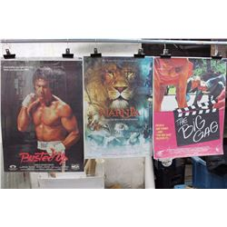 Lot Of Movie Posters (3) (Busted Up, Narnia, The Big Gag)