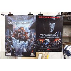 Lot Of Posters (Terminator 3, Lost Planet 3)