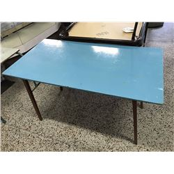 Blue Painted Table