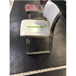 Lot of Stack-able Chairs (3)