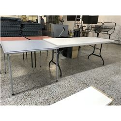 Plastic Folding Leg Tables With Card Table