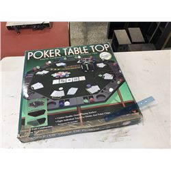 Boxed Poker Table Top Set