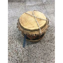 Ceremonial Chinese Hide Drum