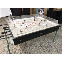 FoosBall Style Hockey Game (Needs Puck, One Player Needs Repair)