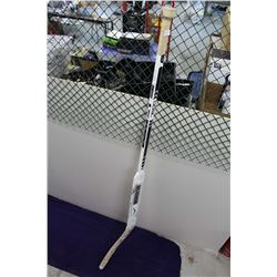 2007-08 LA Kings Jean Sebastien Aubin Game Used Goalie Stick