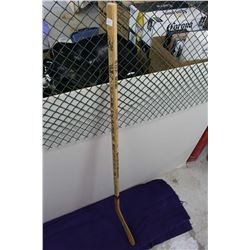 1991-92 Boston Bruins Brent Ashton Hockey Stick ( 21 Autographs: Ray Bourque, Cam Neely, Bob Sweeney