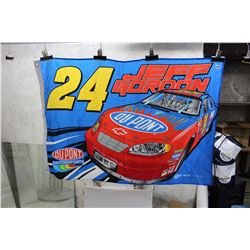 24 Jeff Gordon DuPont Motorsport Flag