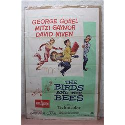 "The Birds And The Bees Vintage Movie Poster (27""x40"")"