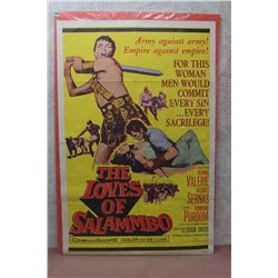 "The Loves Of Salammbo Vintage Movie Poster (27""x40"")"