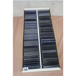 "Box Full Of 3""x4"" Plastic Card Top Loaders"
