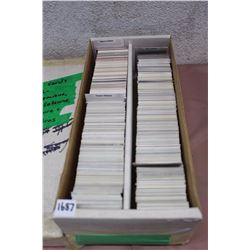 Box Full Of Hockey Cards, All Mario Lemieux, Teemu Selanne, Pavel Bure, Eric Lindros