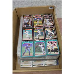 900 Baseball Cards In Binder Pages
