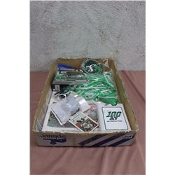 Lot Of Roughriders Memorabilia (Keyring, Card Etc)
