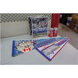 Toronto Blue Jays Pennants, Cans, Etc