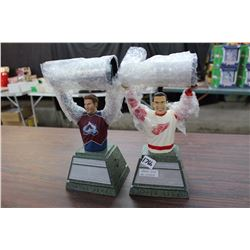 Pair Of Stanley Cup Statues