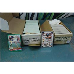 Sets Of Baseball Cards (2) (Donruss, Leaf Series)