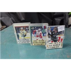 Sets Of Hockey Cards (3) (Premier, UD)