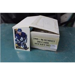 1995-96 Summit 200 Card Hockey Set