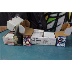 Lot Of Hockey Card Sets (Leaf, Donruss Etc)