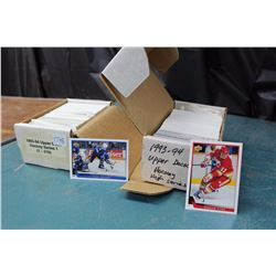 Lot Of Hockey Card Sets (2) Upper Deck