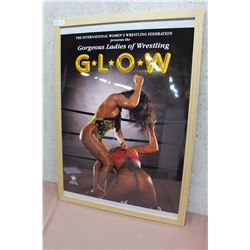 GLOW, Gorgeous Ladies Of Wrestling Framed Poster