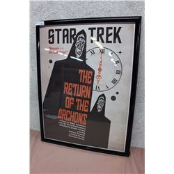 Star Trek, The Return of the Archons Framed Poster
