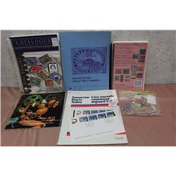 Lot Of Canada Post Stamp Catalogue's & Stamps (Various Dates 1851- 2008)