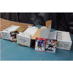 Three Sets Of Hockey Cards (Pro Set Series 2, Score, Pro Set Series 1, all 1991-1992)