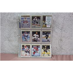 1990-91 OPC Premier Hockey Card Set In Pages
